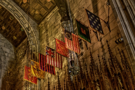 Flags, Washington Memorial Chapel, Valley Forge